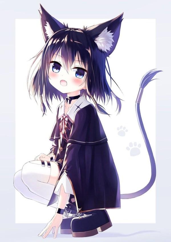 Красивые картинки аниме тянка милая