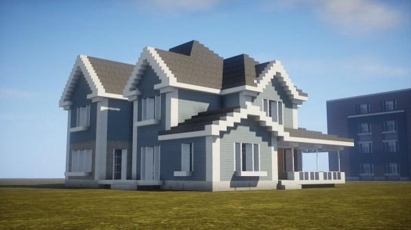 Красивые картинки домов в майнкрафт чертежи