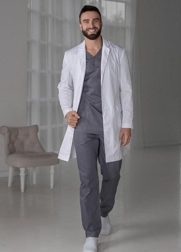 Красивые картинки медицинский халат мужской выкройка