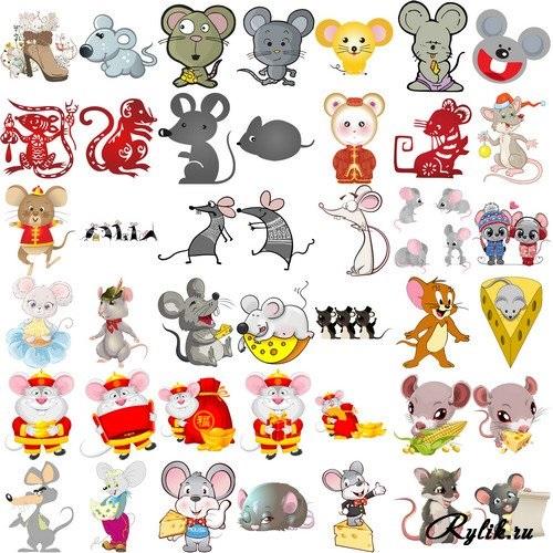 Мышка на прозрачном фоне картинка для детей - лучшие