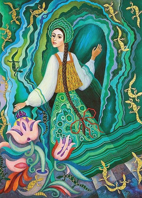 Рисунки малахитовая шкатулка - коллекция