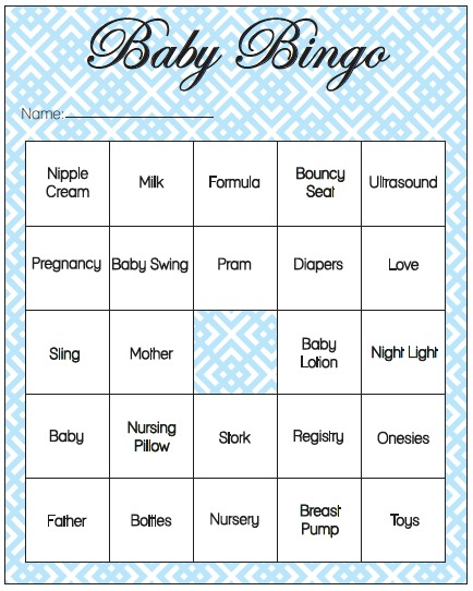 20 Printable Baby Shower Games That Are Fun To Play Tip