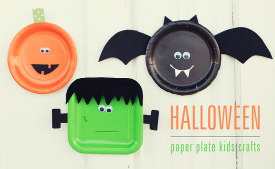 Halloween Paper Plate Craft For Kids