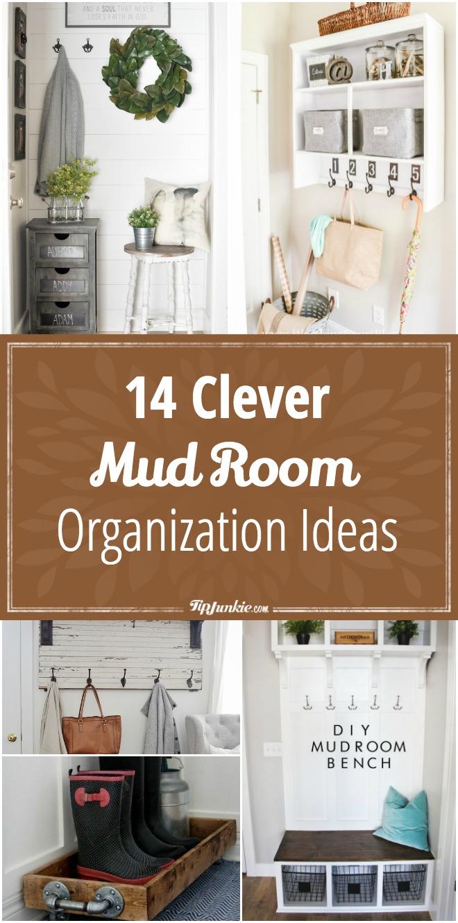 14 Clever Mud Room Organization Ideas Tip Junkie