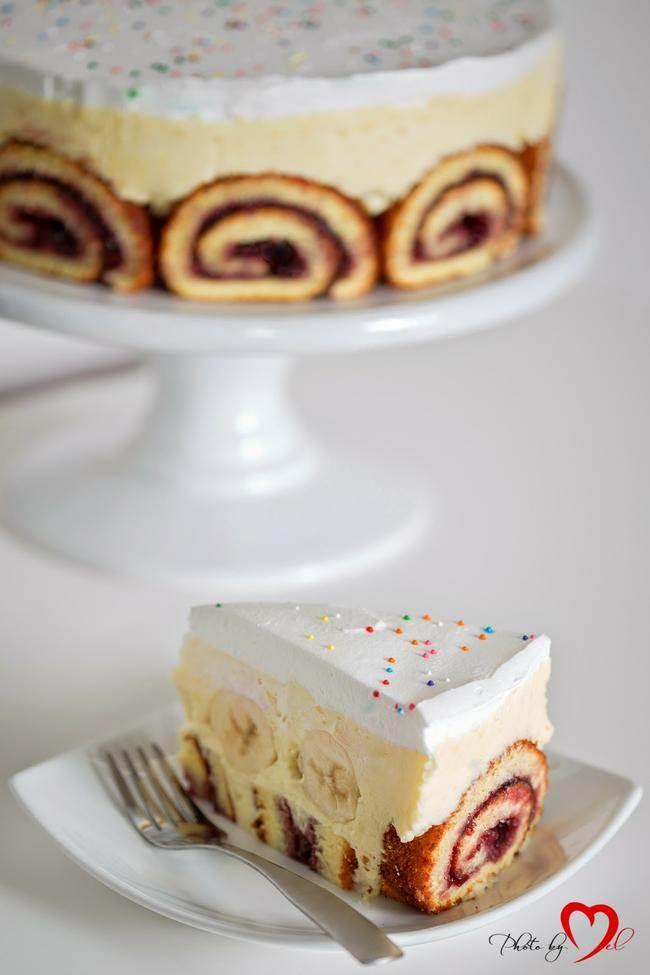 Cake Recipe Sponge Jelly Roll