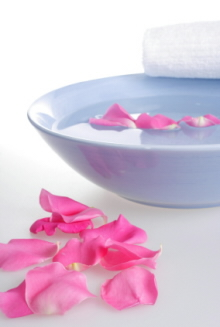 Rose water can be used as a toner as it is