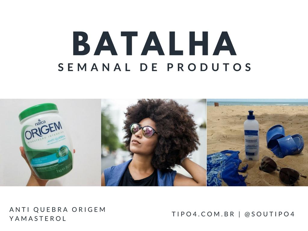 Batalha de produtos: Creme de Hidratação Intensiva x Yamasterol