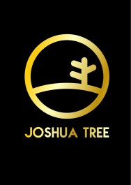 joshua tree logo fondo negro