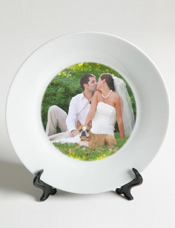Тарелка 2D с печатью (20см)