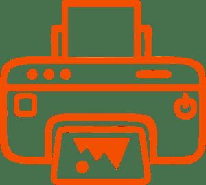 принтер для сублимации иконка