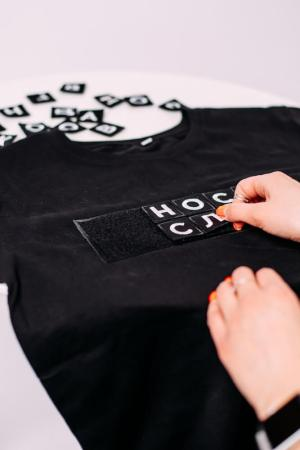 3 дополнительных Патча для одежды Носи слова