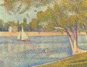 Biografía de Georges Pierre Seurat (1859-1891), neo impresionista
