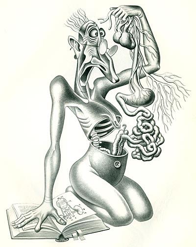 Artzybasheff's Neurotica - Hypochondria