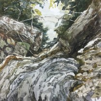 Artist: Zahari Hamidon Title: Ulu Belalong #3 Year: 2013 Medium: Watercolor on paper Price: Size: