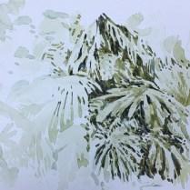 Artist: Zahari Hamidon Title:Sketch #1 Year: Medium: Watercolor on paper Price: NFS Size: