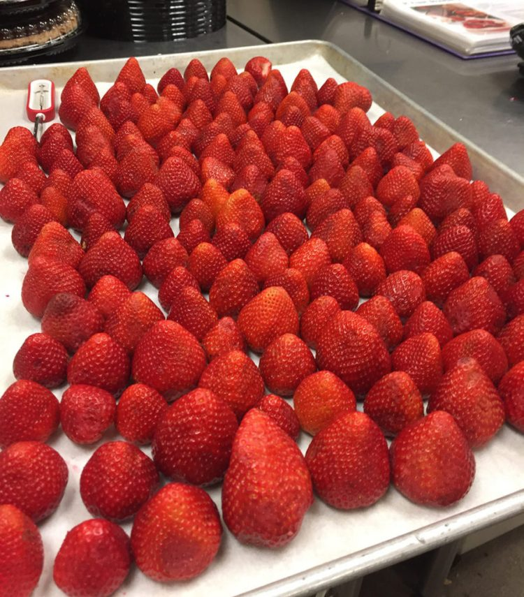 Driscolls strawberries for Strawberry Pie