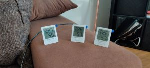 Bresser Thermometer und Hygrometer 3er Set Test Gästezimmer