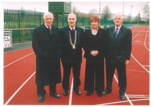 Templemore Athletics Club Track Sponsor