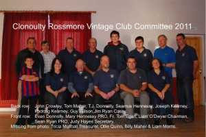 Clonoulty Rossmore Vintage Club Committee 2011