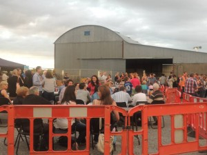 Some of the attendance at Stepping Stones Feile Open Air Concert