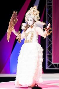 Katie Whyte wearing Artic Queen