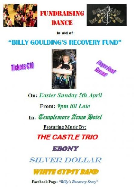 Billy Goulding recovery fund dance