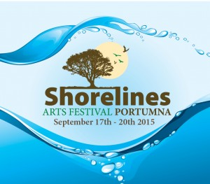 Portumna's Shorelines Arts Festival 2015 17th-20th September
