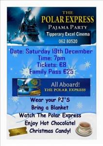 Polar Express Pyjama Party At Excel Arts Centre