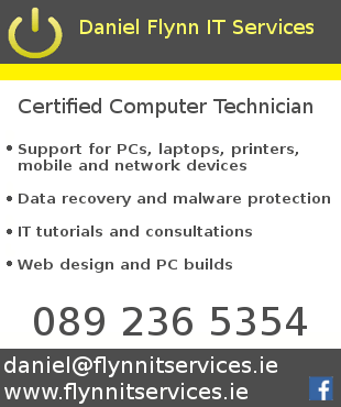 Daniel Flynn IT Services brings professional IT support to homes and SMEs