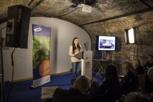 Cashel girl chosen to address international research launch