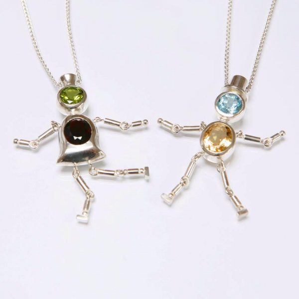 Dancing masters by Eileen Hassett, Jewellery Designer and Goldsmith