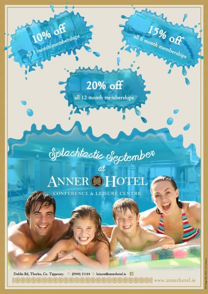 Anner Hotel September Memembership Sale