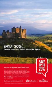 Rock Of Cashel Features In New Tourism Promotion In Britain