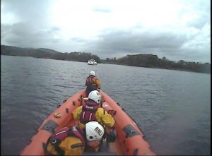 Lough Derg RNLI Lifeboat Launched After Cruiser Runs Aground by Scilly Islands