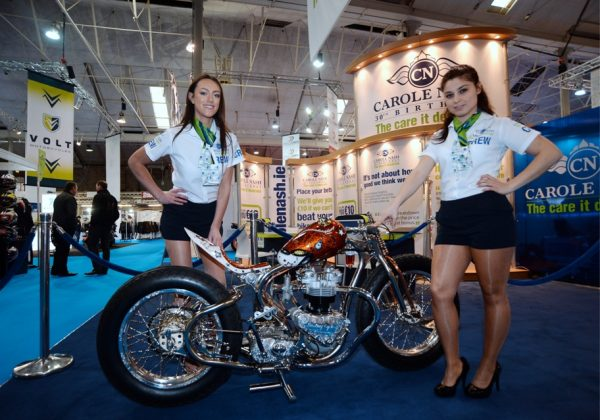 Ireland's biggest motorbike and scooter show at the RDS