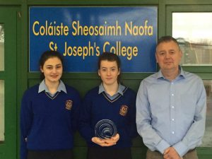 St. Joseph's College, Borrisoleigh, Win First Prize For Environmental Protection