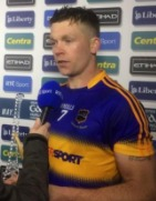 Padraic Maher (Thurles Sarsfields) winning Man of the Match Award