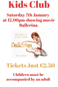 Excel Arts Centre Kids Club Presents The Ballerina