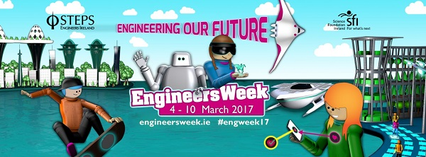 Engineers Ireland is calling on primary and secondary school teachers in County Tipperary to take the Engineers Week Challenge