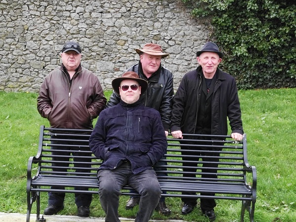 Mid Life Crisis left to right Davy Richardson,PJ Connolly,Ger Richardson and Tommy Foley