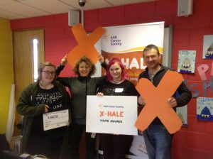 Tipperary youth groups get behind the camera ahead of the Irish Cancer Society X-HALE Youth Awards