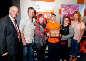 Nenagh Community Training Centre take prize home to Tipperary following Irish Cancer Society X-HALE Youth Awards