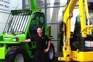 Birdhill Firm Appoints New Sales Representative For Merlo And Komatsu Minis