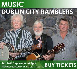 The Nenagh Arts Centre Presents The Dublin City Ramblers