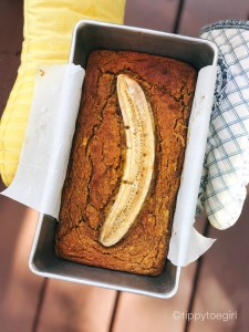Golden Milk Vegan & Paleo Banana Bread