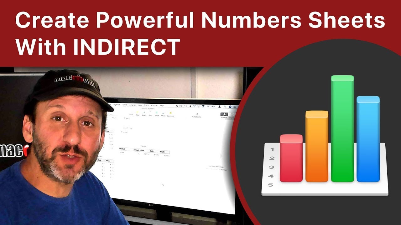 Create Powerful Numbers Spreadsheets With the INDIRECT Function