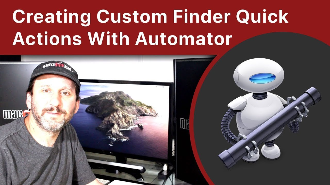Creating Custom Finder Quick Actions With Automator