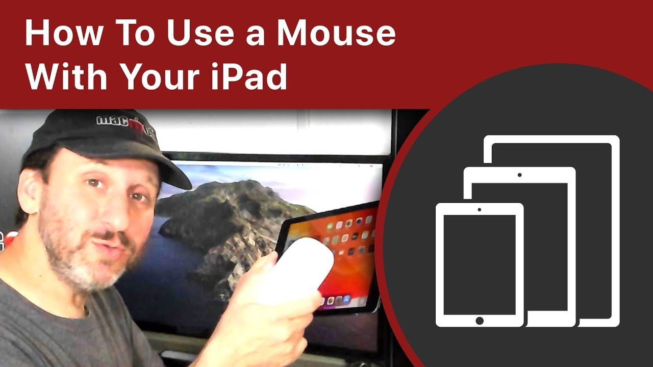 How To Use a Mouse With Your iPad