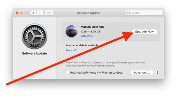 How to install MacOS Catalina upgrade on Mac