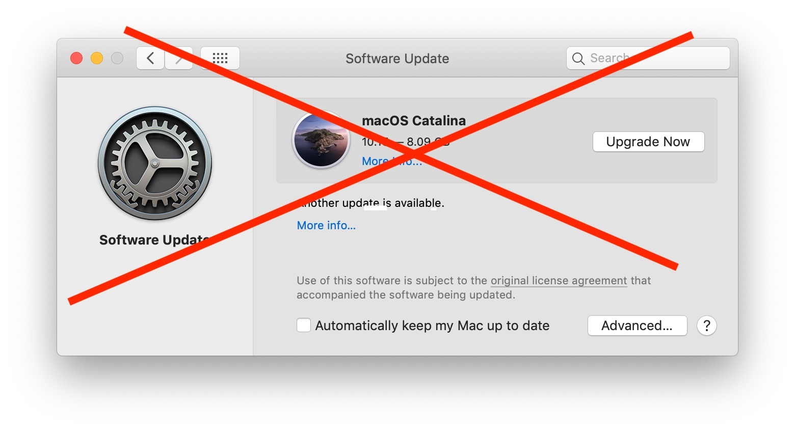How to Hide MacOS Catalina from Software Update on Mac
